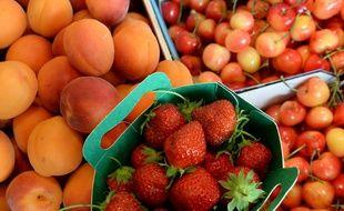 Des abricots, des fraises, mais pas de poires ou de scoubidous