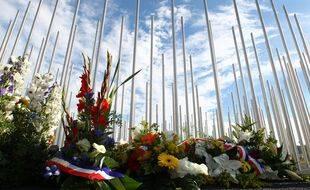 Vingt ans après l'explosion de l'usine AZF à Toulouse, un parcours mémoriel sera installé autour d'un mémorial déjà existant qui est l'oeuvre de l'artiste Gilles Conan.