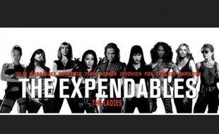 Un internaute a imaginé à quoi pourrait ressembler l'affiche d'une version féminine de The Expendables.