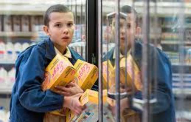 Eleven a une passion pour les gaufres Eggo de Kellog's dans Stranger Things