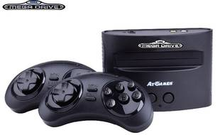 La Sega Mega Drive.