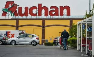 Un supermarché Auchan (illustration)