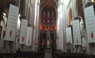L'église Saint-Nicolas à Nantes.