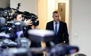 Le procureur de Paris François Molins à Paris le 14 novembre 2015
