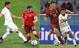 Il y a des Rouges et des Blancs, mais il ne s'agit pas du même match