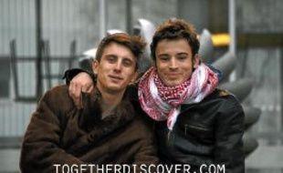 Partis le 27février, Thomas et Louis reviendront le 5août prochain.