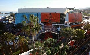 Le Palais des festivals à Cannes le 17 mai 2017.