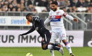Malcom a écopé de deux matchs de suspension (dont un ferme) pour avoir simulé une faute lors de Bordeaux-Lyon, le 28 janvier 2018.