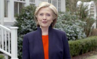 Capture d'écran de la video dans laquelle Hillary Clinton annonce sa candidature à l'investiture démocrate le 13 avril 2015