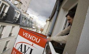 Un agent immobilier (illustration).