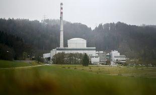 Centrale nucléaire de Muhleberg située près de la capitale suisse.