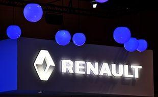 Le stand Renault au salon de l'automobile de Tokyo au Japon, en octobre 2015.
