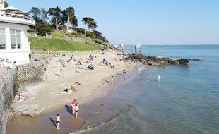 La plage de la Source à Pornic (illustration).