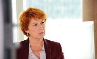 Véronique Genest dans la dernière saison de «Julie Lescaut».