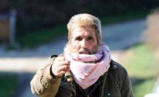 """Olivier Corel, surnommé le """"cheikh blanc"""" ou """"l'émir blanc"""", le 23 mars 2012 à Artigat, en Ariège"""