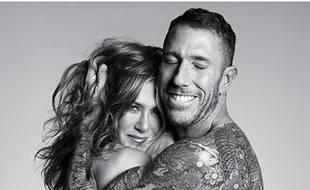Jennifer Aniston et son coiffeur