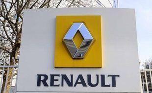 Le siege de Renault a Boulogne Billancourt. Boulogne Billancourt, Le 3 janvier 2011.