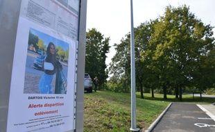 Villefontaine Nord Isère le 29/09/2020 : Les lieux de la découverte du corps de Victorine sont de nouveau bouclés par les gendarmes. De nouvelles