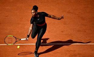 Serena Williams, le 29 mai 2018 à Roland-Garros.