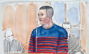 Jonathann Daval comparaît pour le quatrième jour devant la cour d'assises de Haute-Saône pour le meurtre de sa femme.
