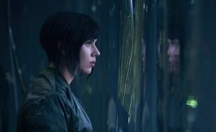 Scarlett Johansson dans le film «Ghost in the Shell».