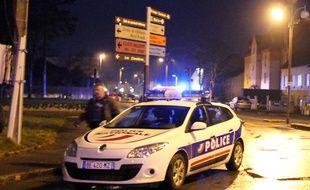 Illustration d'un véhicule de police, ici près de Rennes.