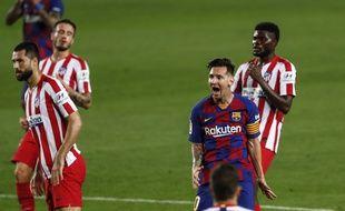 Lionel Messi a inscrit son 700e en carrière lors de Barça-Atlético Madrid, le 30 juin 2020.