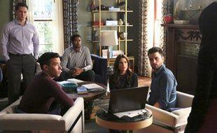 Une partie du casting de la saison 3 de «How to Get Away With Murder».