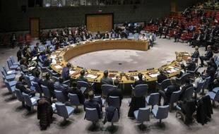 Le Conseil de sécurité de l'ONU le 26 février 2020 (illustration).