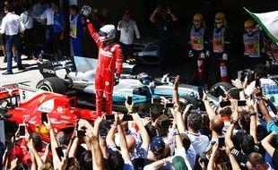 Sebastian Vettel a remporté le Grand Prix du Brésil, le 12 novembre 2017.