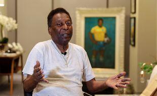 Pelé, légende du football, le 12 novembre 2019 au Brésil.