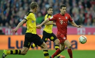 Le Bayern a battu le Borussia (5-1) le 4 octobre 2015