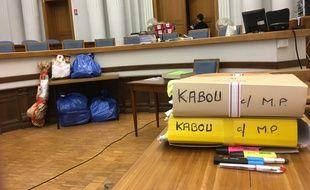 Douai (Nord), le 08 septembre 2017. Fabienne Kabou est jugée en appel pour avoir déposé sa fillette de 15 mois sur la plage de Berck en 2013.