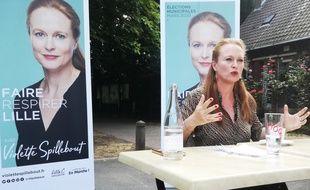 Violette Spillebout, la candidate de LREM pour les municipales à Lille (illustration).