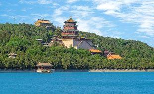 Le Palais d'été de Pékin, un magnifique ensemble architectural classé au patrimoine mondial de l'Unesco.