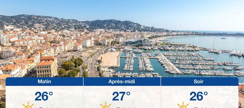 Météo Cannes: Prévisions du jeudi 29 juillet 2021