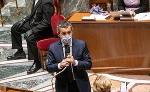 Gérald Darmanin, le 27 octobre 2020 à l'Assemblée.