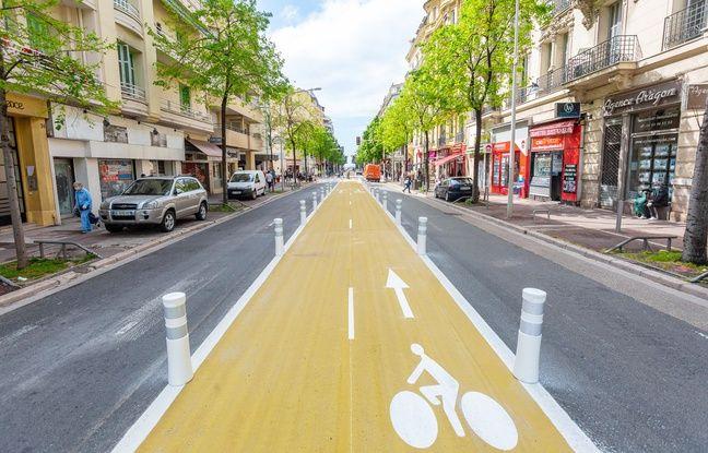 Nice: Opposition de riverains, action en justice... Deux mois après la création des nouvelles pistes cyclables, où en est-on?