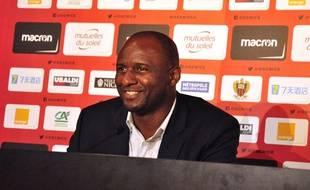 Patrick Vieira estime que le Gym peut encore jouer l'Europe.