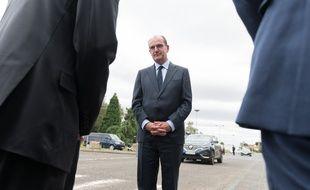 Le Premier ministre Jean Castex en visite au Coudray Montceaux, le 4 juillet 2020.