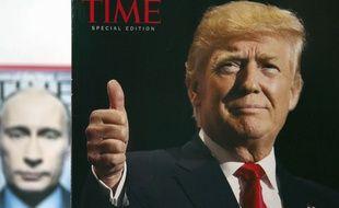 Des Unes du Time photoshoppées font l'éloge de Trump dans ses club de golf