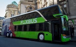 La société Flixbus assure début 2016 une trentaine de lignes en France