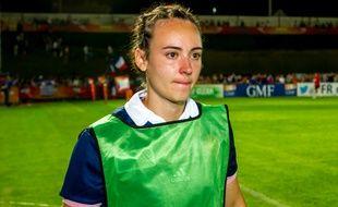 Yanna Rivoalen, pendant la Coupe du monde en 2014.