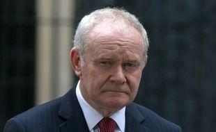 L'ancien vice-Premier ministre d'Irlande du Nord Martin McGuinness