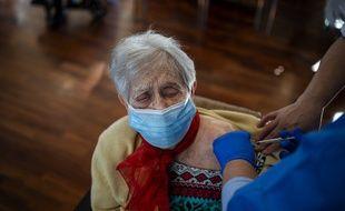 Une vaccination en Espagne. (archives)