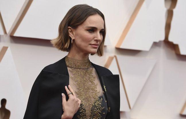 Oscars 2020: L'actrice Natalie Portman a fait broder les noms des réalisatrices snobées sur sa cape Dior
