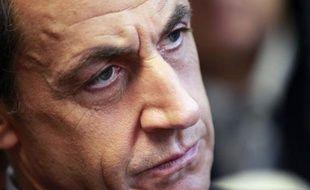 """Le président Nicolas Sarkozy a déclaré jeudi qu'il n'y aurait """"pas de plan social chez PSA"""", lors d'un discours à l'occasion du 3e anniversaire du Fonds stratégique d'investissement (FSI), fonds souverain à la française."""