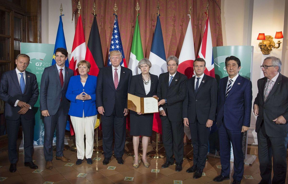 Le sommet du G7 à Taormina vendredi 26 mai 2017. – Guido Bergma/Shuttersto/SIPA