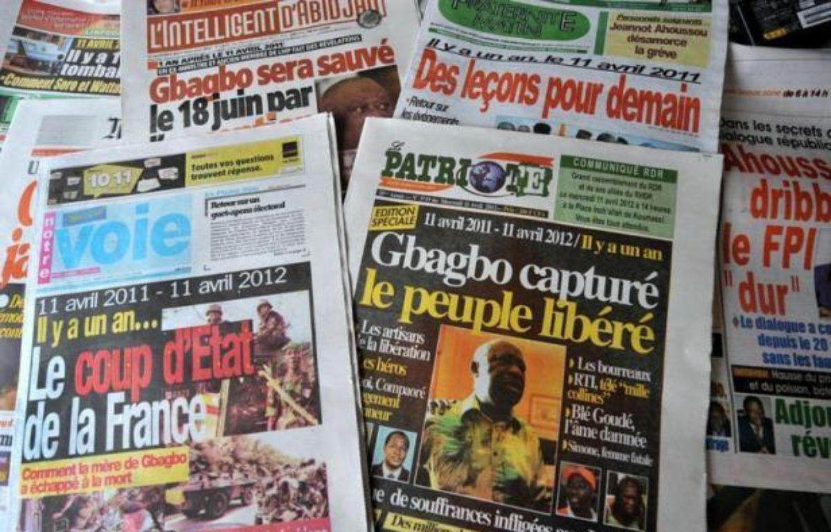 La Côte d'Ivoire a marqué mercredi dans la division l'anniversaire de la chute de l'ex-président Laurent Gbagbo le 11 avril 2011, à l'issue d'une crise postélectorale qui a meurtri le pays et fait quelque 3.000 morts. – Sia Kambou afp.com