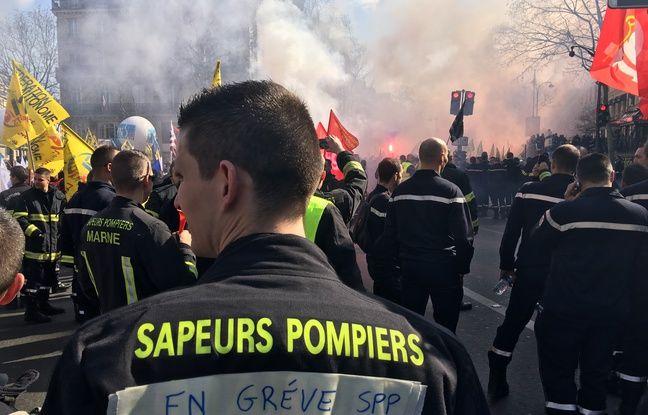 Les manifestants ont défilé entre la place de la République et la place de la Bastille.